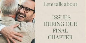 Issues During Our Final Chapter Social Media Graphic