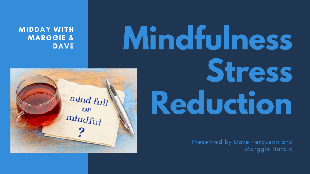 Mindfulness Stress Reduction Banner Graphic