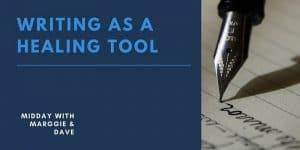 Writing as a healing tool banner